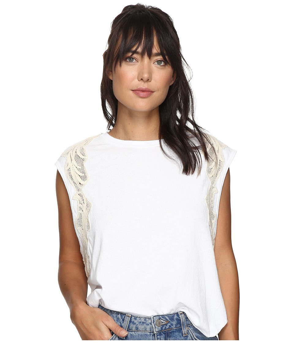 Free People - Bonsai Tee (White) Women's T Shirt