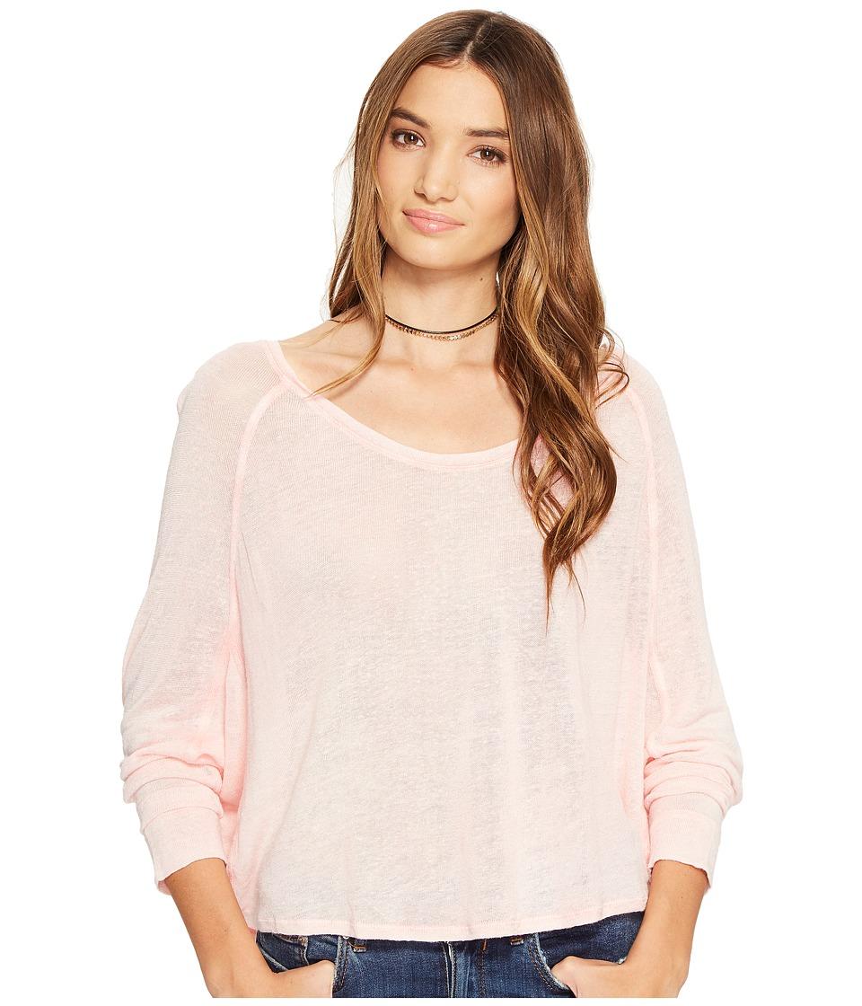 Free People - Nashville Tee (Pink) Women's T Shirt