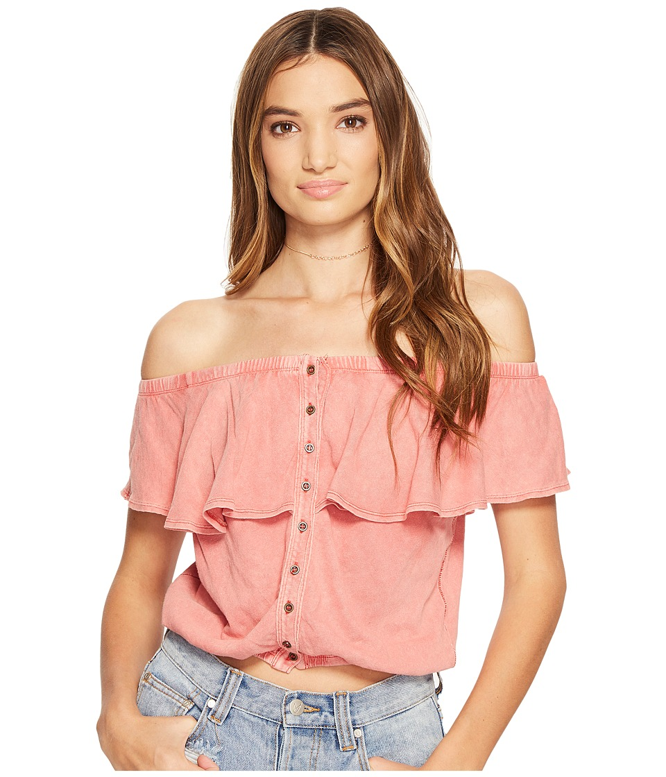 Free People - Love Letter Tube Top (Coral) Women's Sleeveless