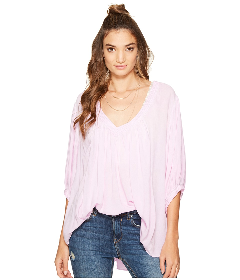 Free People - Catch Me If You Can Tee (Lilac) Women's T Shirt