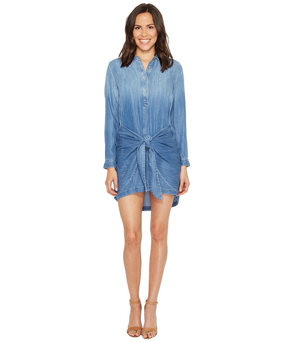 Calvin Klein Jeans - Tie Front Button Down Dress (Bella Mid) Women's Dress