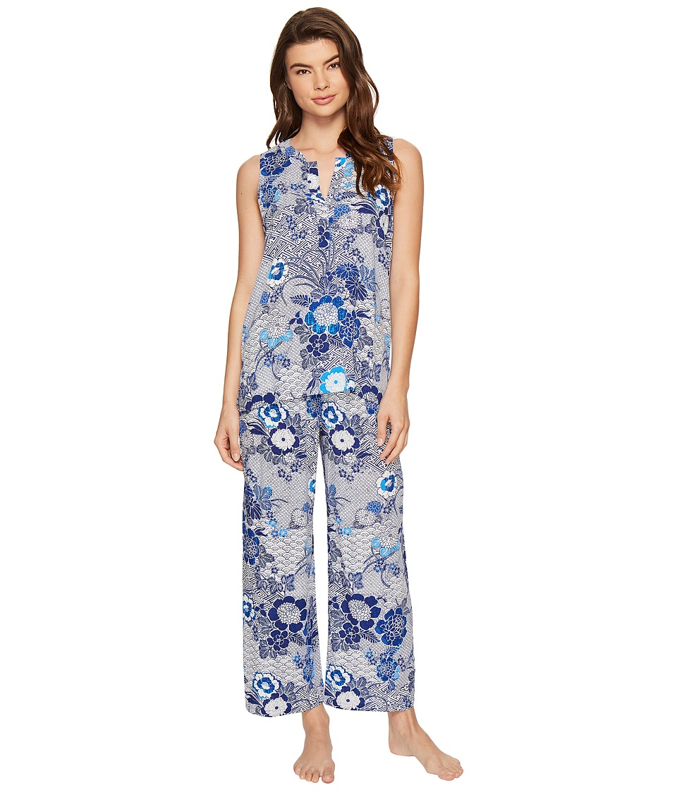 N by Natori - Sleeveless PJ Set (Navy/Blue) Women's Pajama Sets