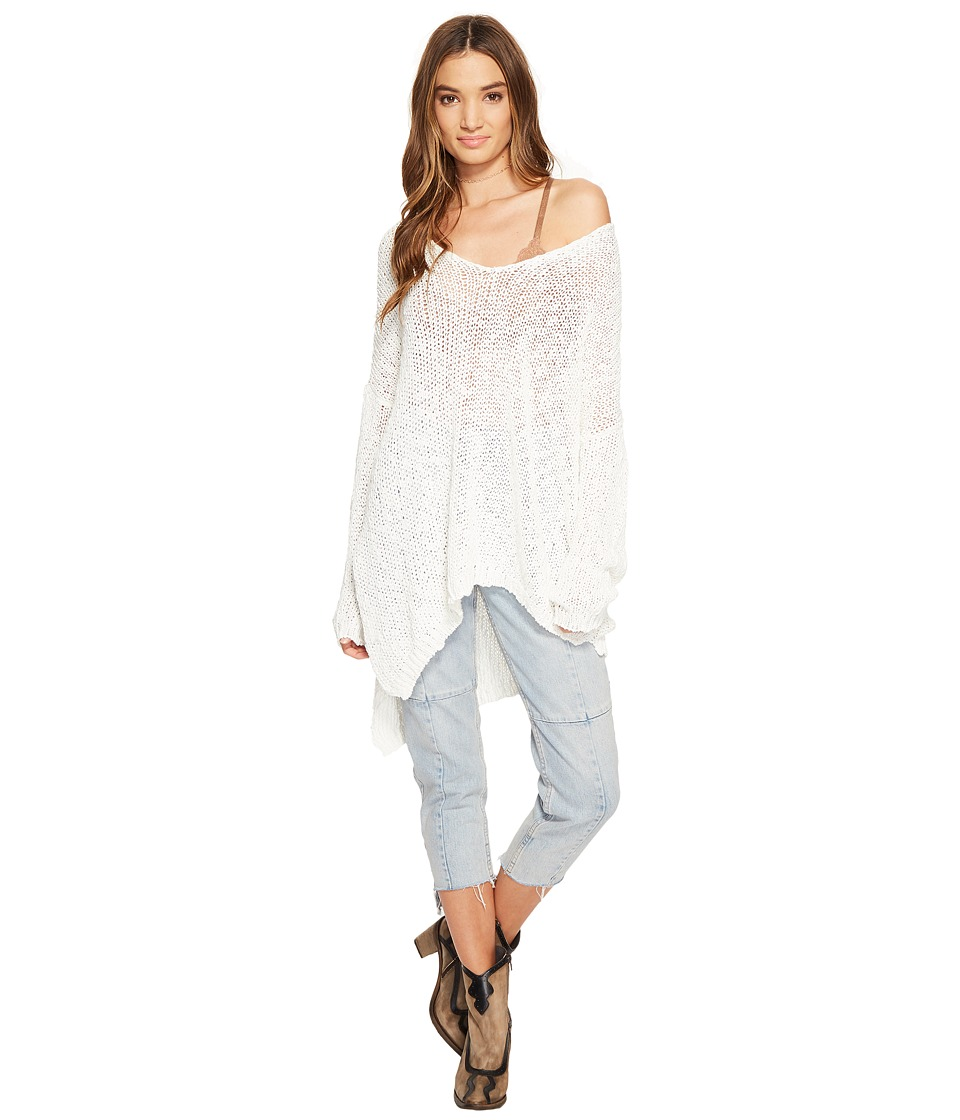 Free People - Vertigo Pullover (Ivory) Women's Clothing
