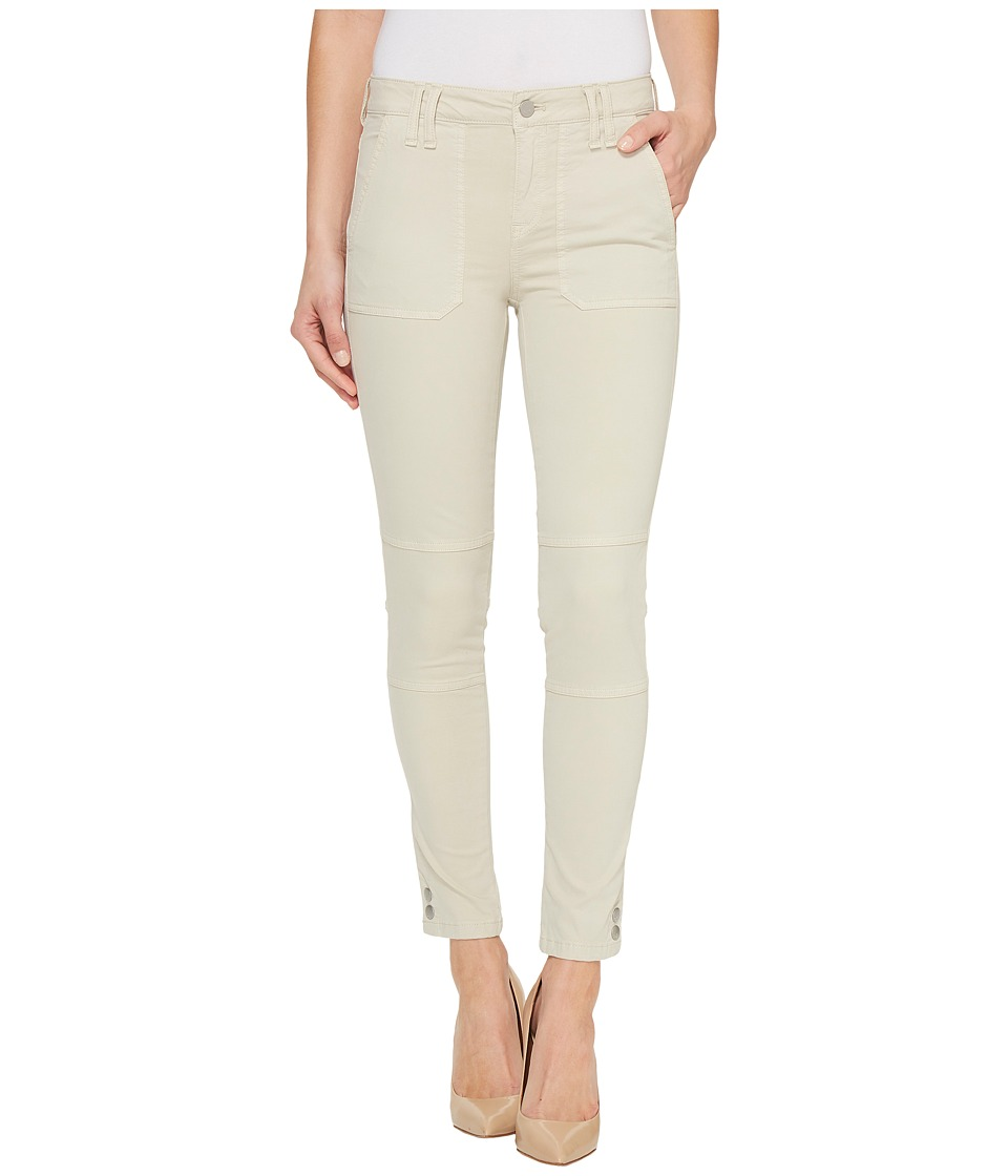 Calvin Klein Jeans Garment Dyed Cargo Ankle Skinny Pants (Pelican) Women