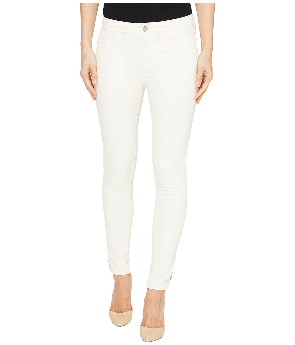 Calvin Klein Jeans Garment Dyed Cargo Ankle Skinny Pants (Eggnog) Women
