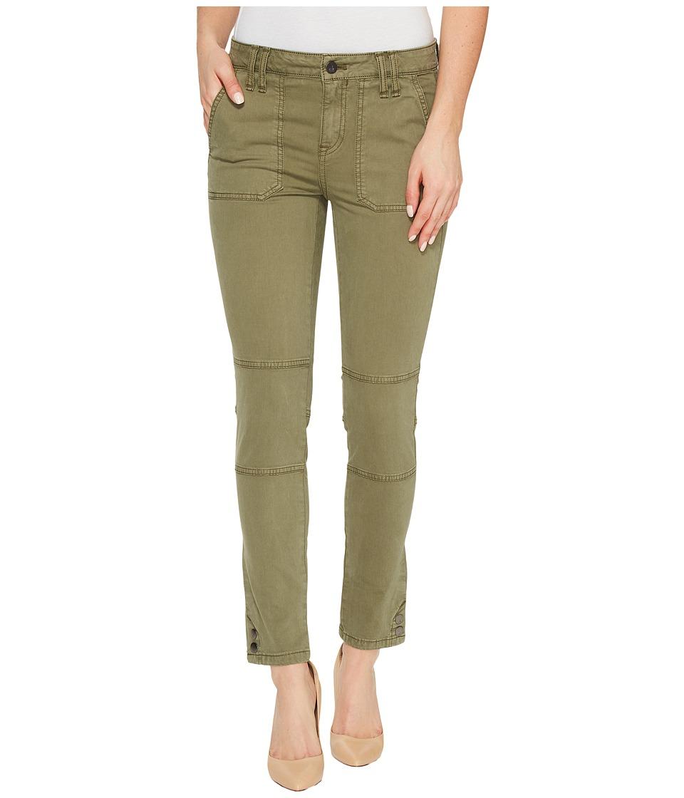 Calvin Klein Jeans Garment Dyed Cargo Ankle Skinny Pants (Ivy Mist) Women