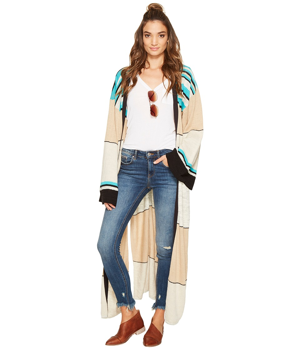 Free People - Walk The Line Cardi (Ivory) Women's Sweater