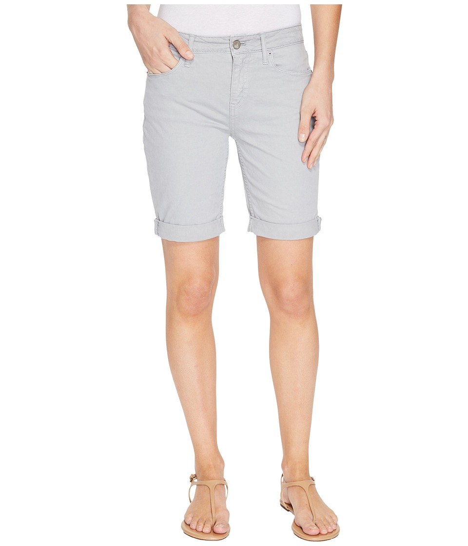 Calvin Klein Jeans - Tacked Garment Dyed City Shorts (Quarry) Women's Shorts