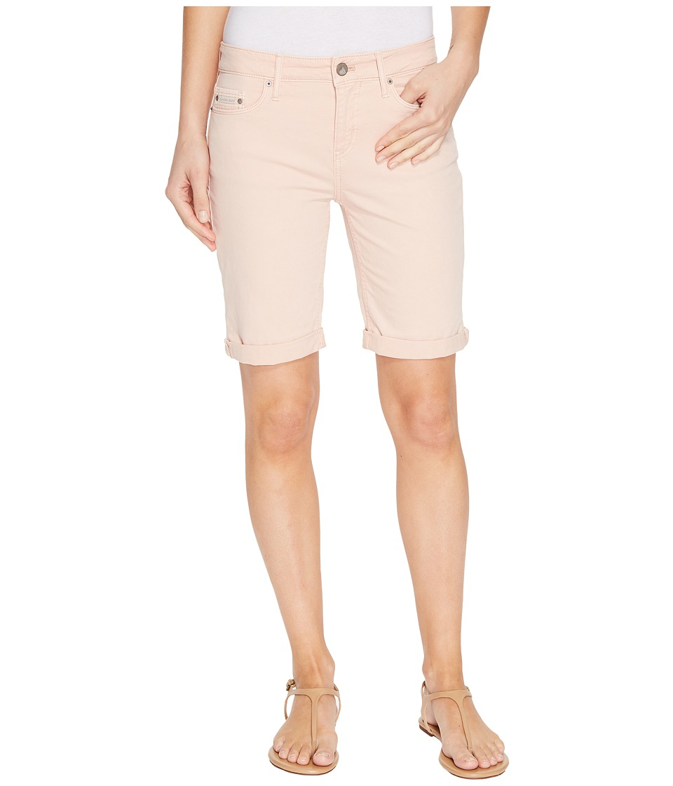 Calvin Klein Jeans - Tacked Garment Dyed City Shorts (Rose Dust) Women's Shorts
