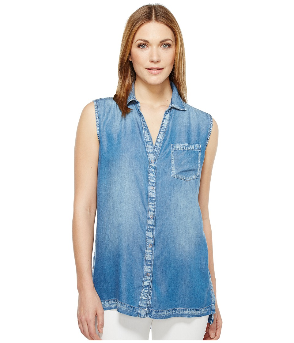 Calvin Klein Jeans - Lyocell Sleeveless Top (Tarvn Mid) Women's Sleeveless
