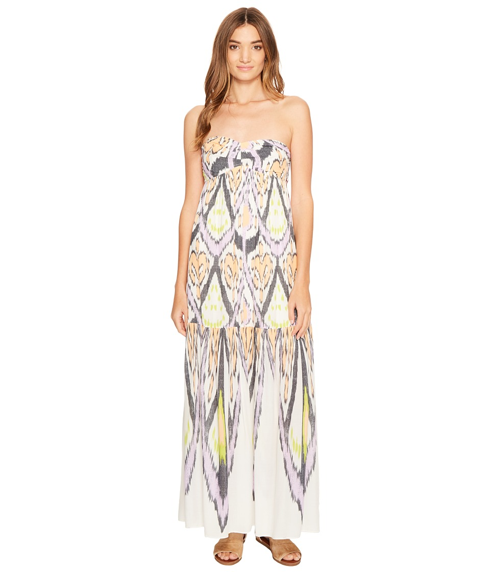 Free People - Mojave Maxi Dress (Neutral Combo) Women's Dress
