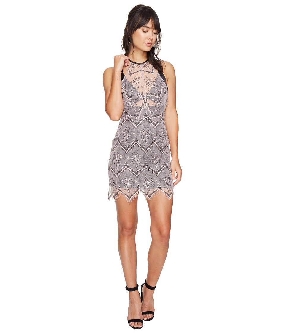Free People - Nothing Like This Mini Dress (Nude) Women's Dress