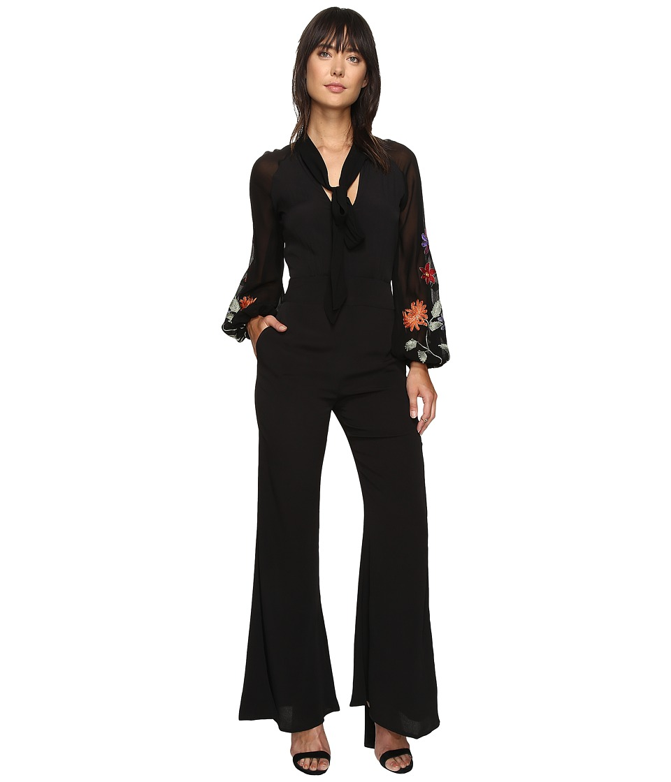 Free People - Smoke Ring Jumpsuit (Black) Women's Jumpsuit & Rompers One Piece