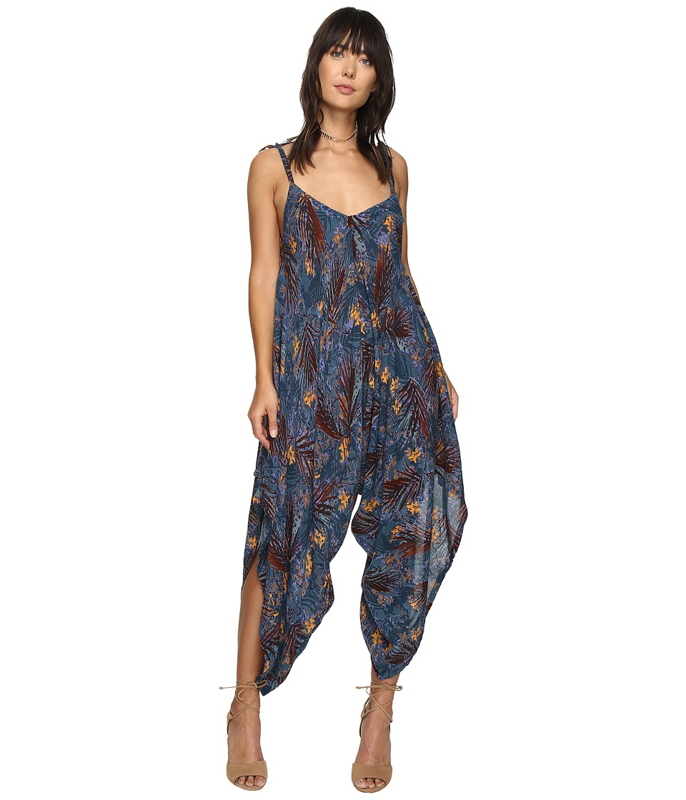 Free People - El Porto Romper (Black) Women's Jumpsuit & Rompers One Piece