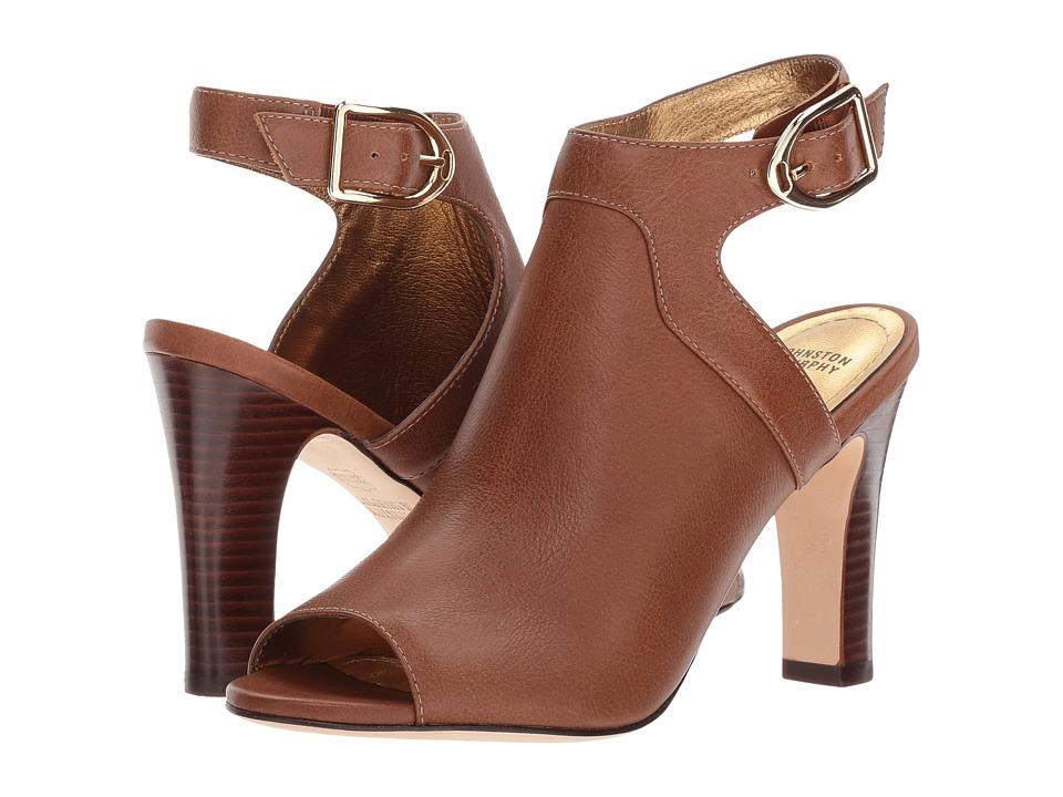 Johnston & Murphy Cassie (Chestnut Tumbled Leather) Women