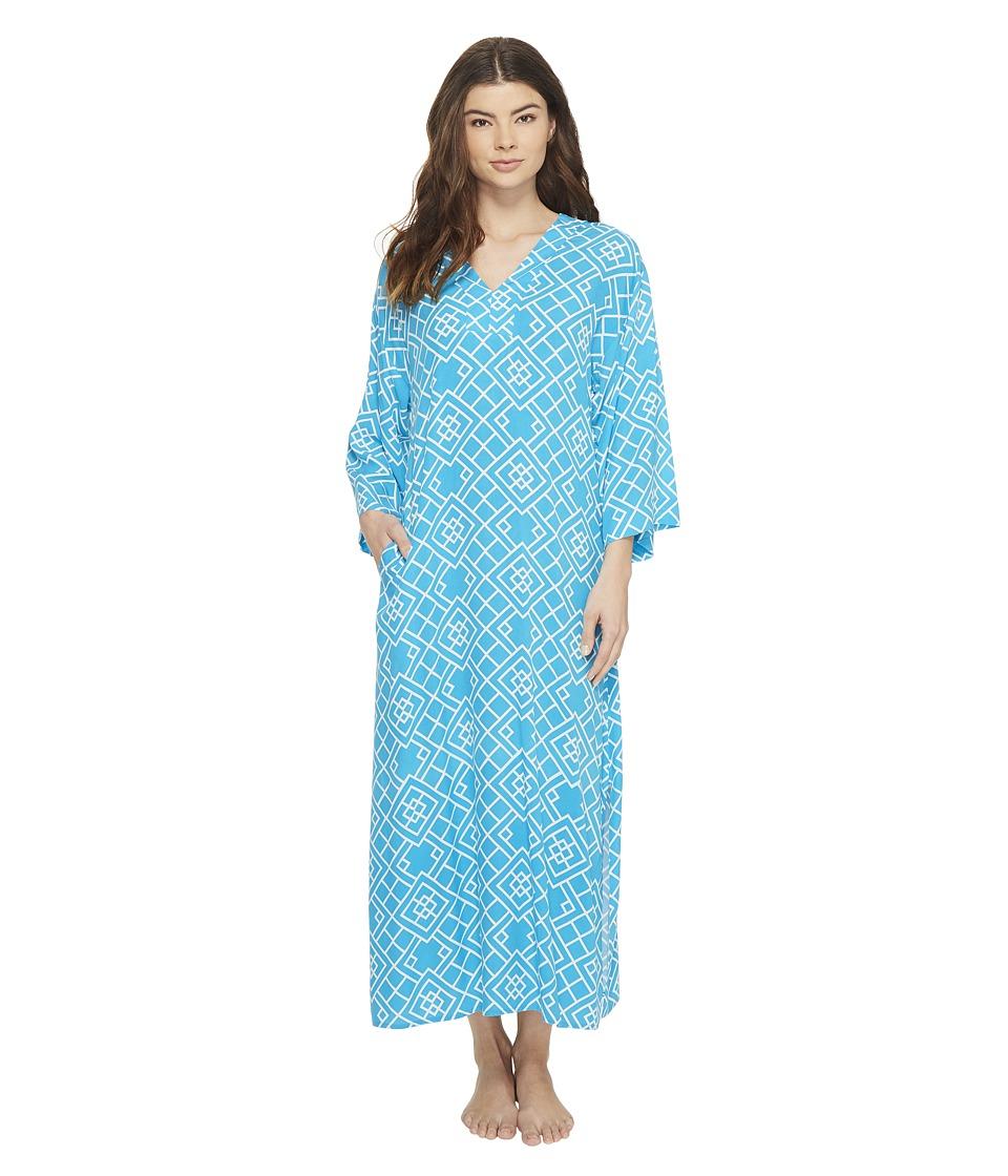 N by Natori - Diamond Caftan (Caribe) Women's Pajama
