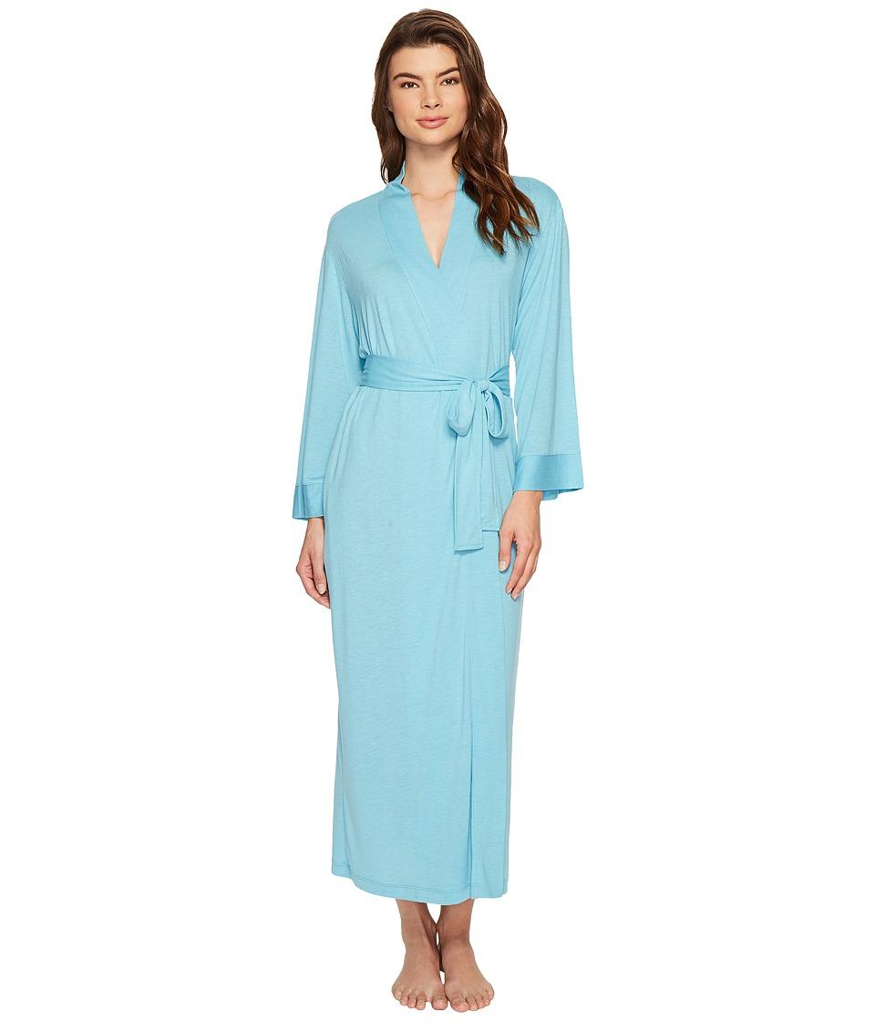 N by Natori - Congo Robe (Heather Sky) Women's Robe