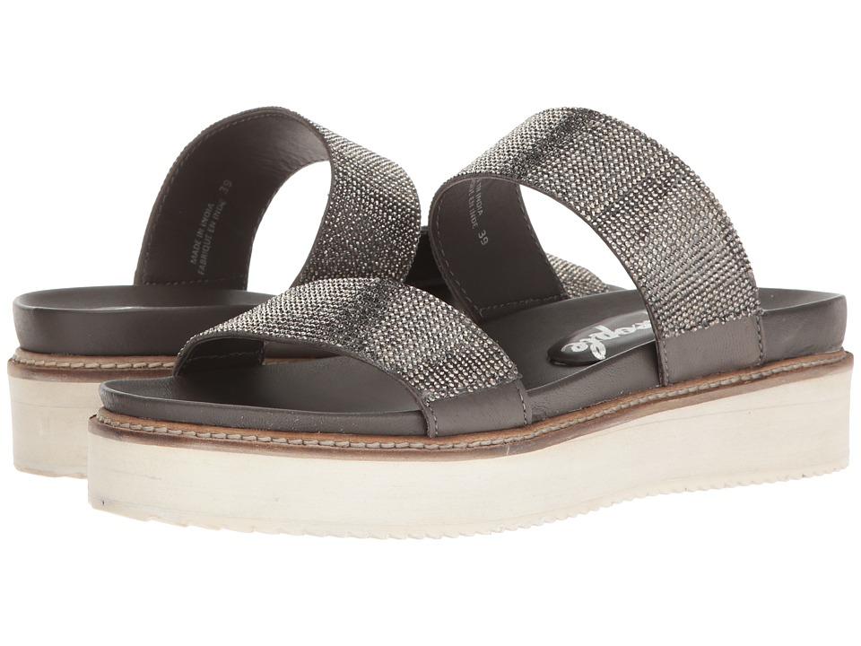 Free People - Harper Gem Flatform (Black) Women's Sandals