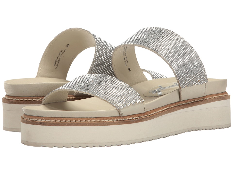 Free People - Harper Gem Flatform (Silver) Women's Sandals