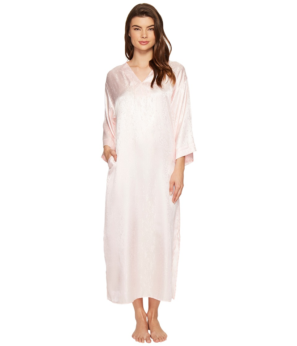 N by Natori - Congo Satin Caftan (Blush) Women's Pajama