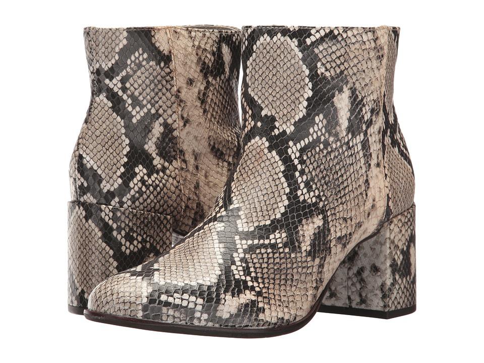 Johnston & Murphy Finley (Natural Snake Print Leather) Women