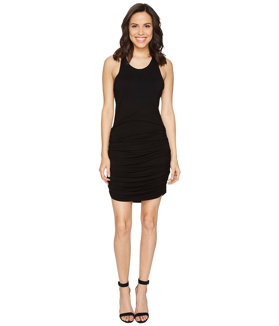 Young Fabulous & Broke - Becky Dress (Solid Black) Women's Dress