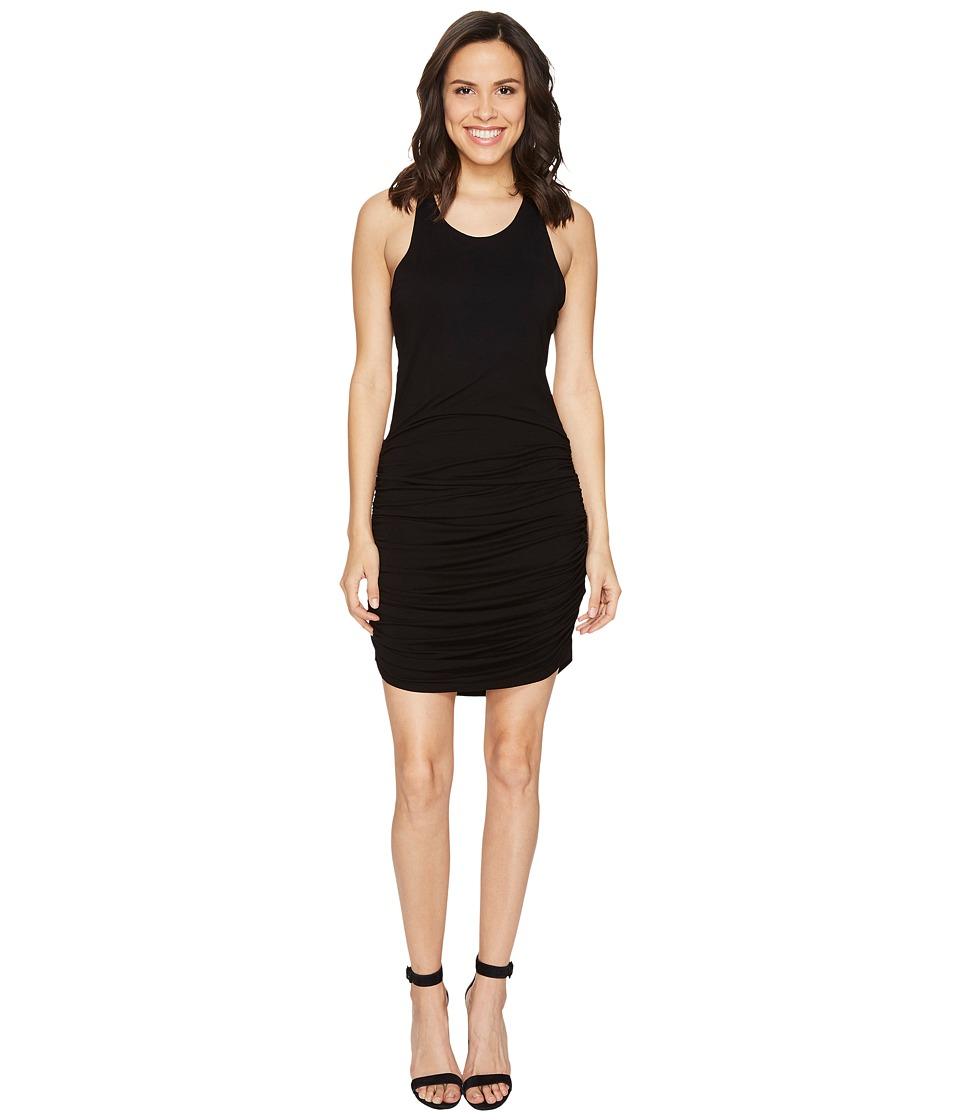 Young Fabulous & Broke Becky Dress (Solid Black) Women