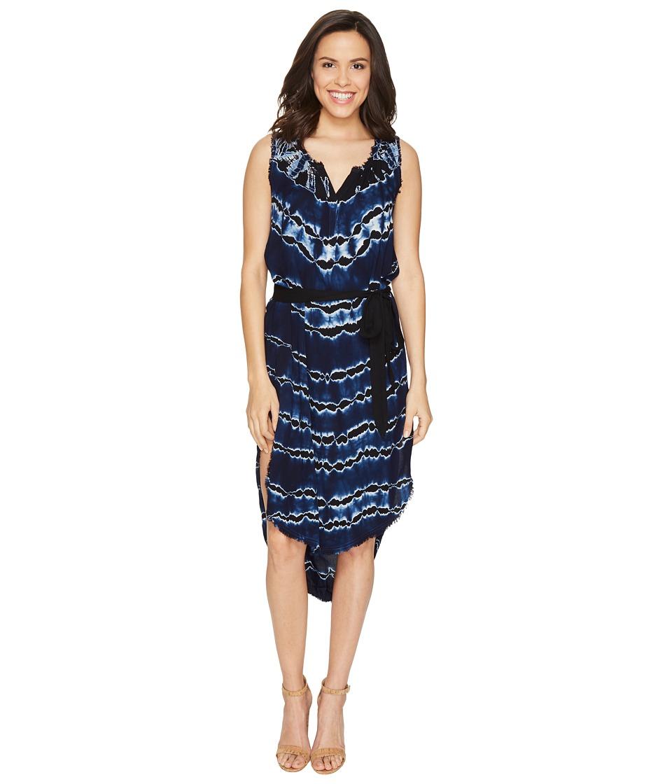 Young Fabulous & Broke - Walker Dress (Ink Stripe) Women's Dress