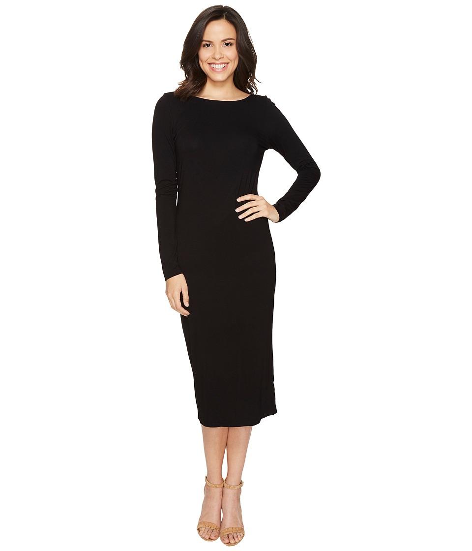Young Fabulous & Broke - Karlyn Dress (Black Solid) Women's Dress