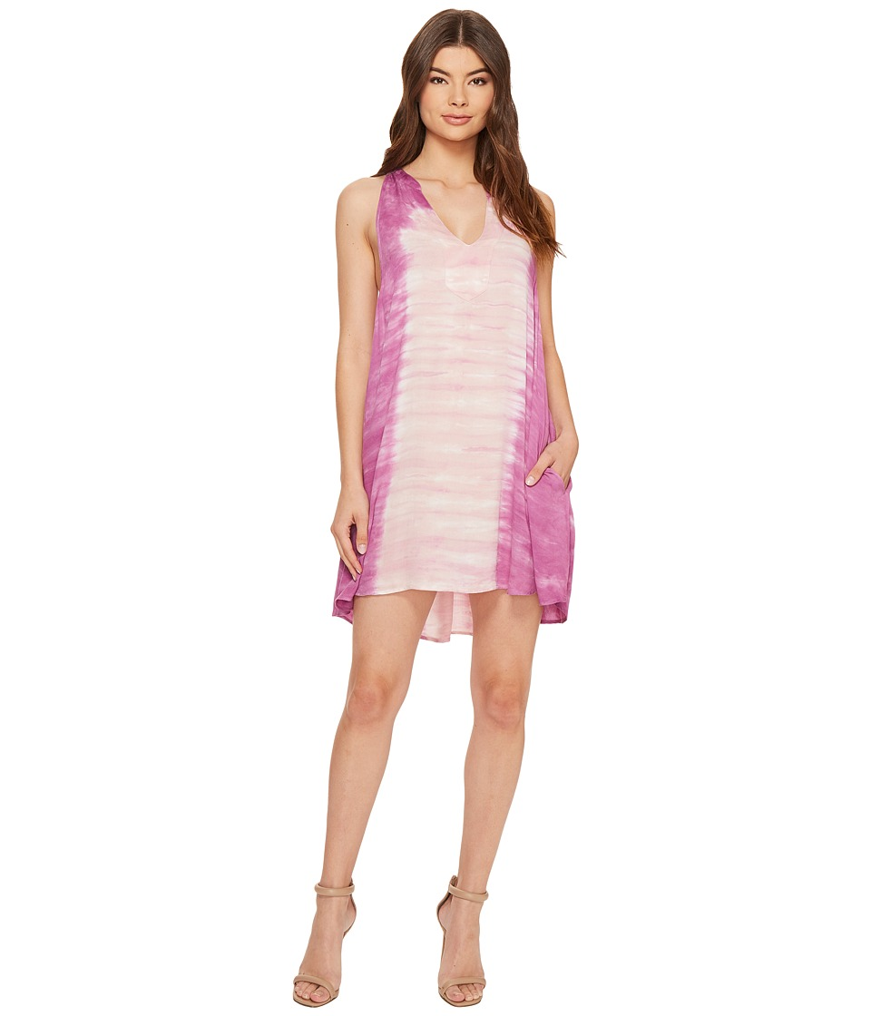 Young Fabulous & Broke - Natasha Dress (Aquamarine Marble) Women's Dress