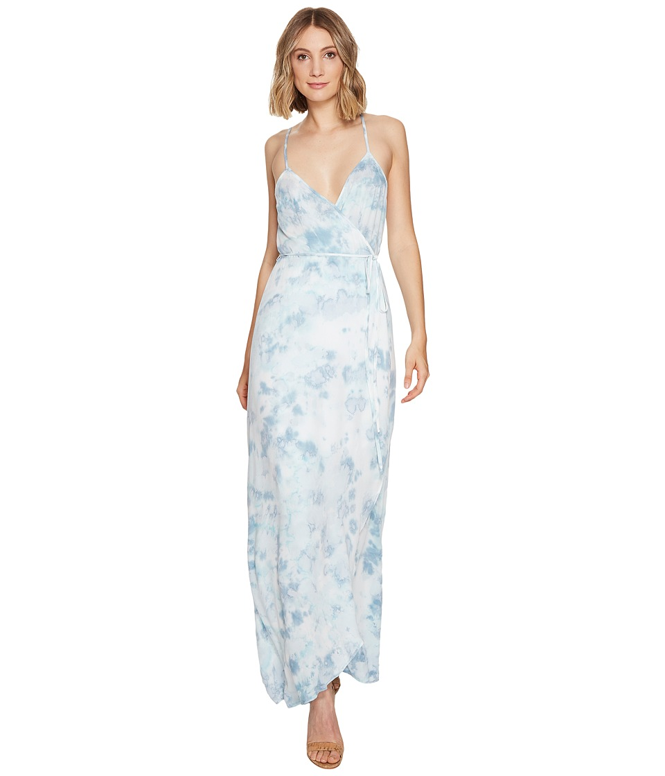 Young Fabulous & Broke Lorelai Wrap Dress (Aquamarine Constellation) Women