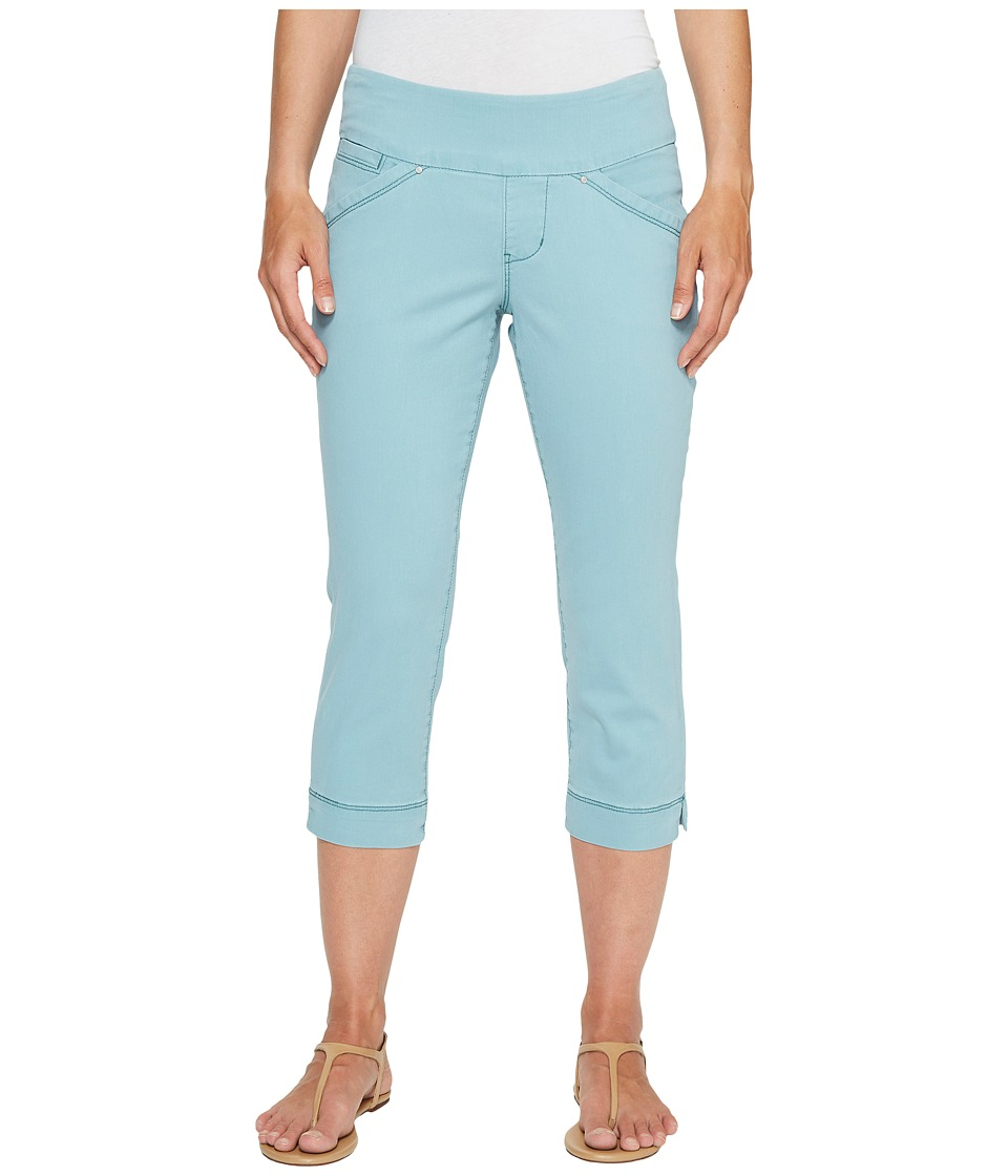 Jag Jeans Petite - Petite Marion Pull-On Crop in Bay Twill (Nile) Women's Casual Pants