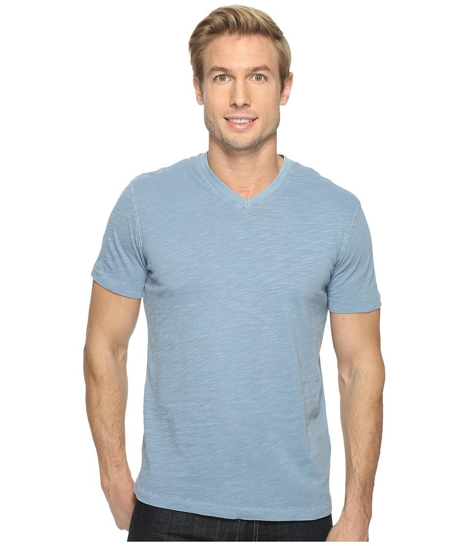Mod-o-doc - El Porto Short Sleeve V-Neck Tee (Fountain) Men's T Shirt