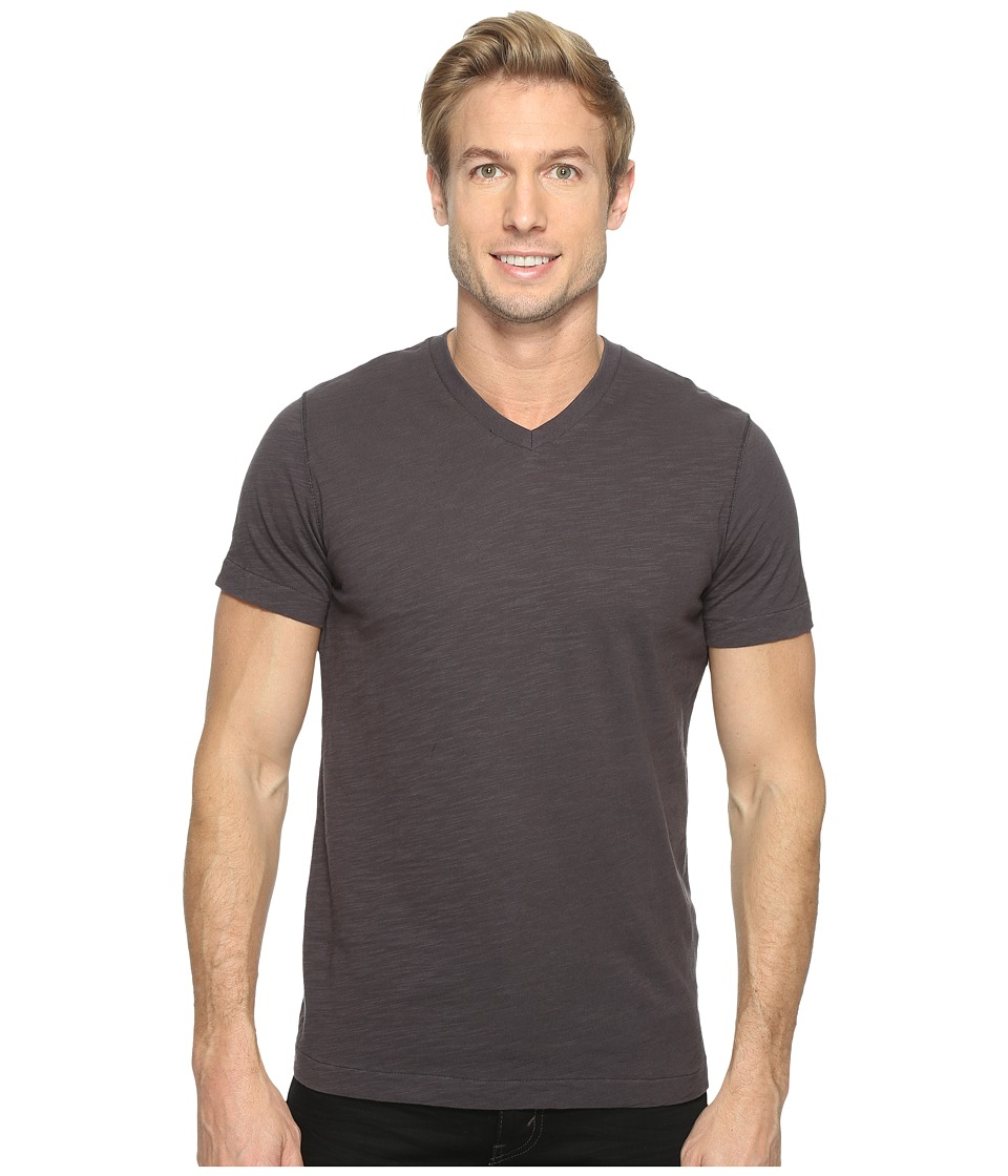 Mod-o-doc - El Porto Short Sleeve V-Neck Tee (Fossil) Men's T Shirt