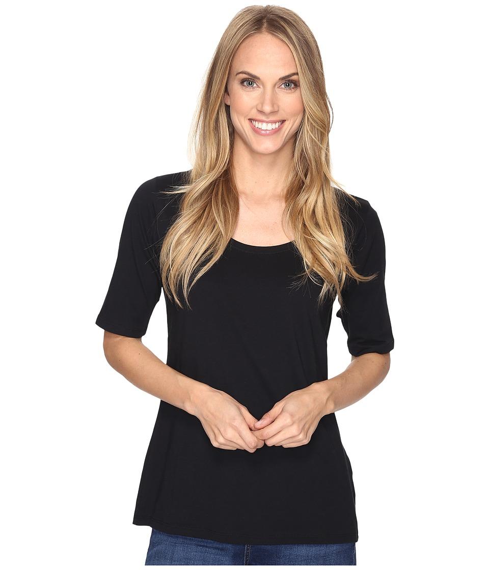 Pendleton - Perfect Pima Tee (Black) Women's T Shirt