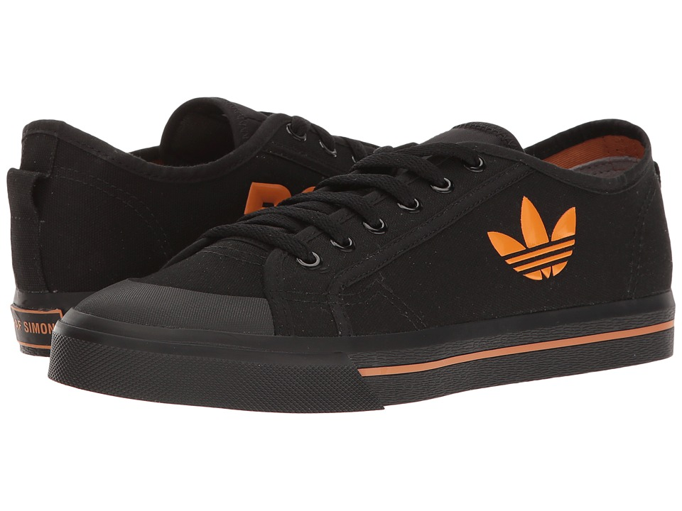 adidas by Raf Simons - Raf Simons Spirit Low (Core Black/Supply Color/Core Black) Shoes