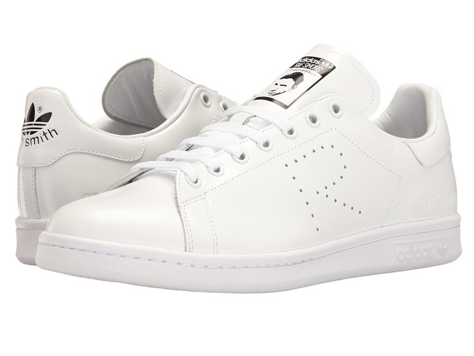 adidas by Raf Simons - Raf Simons Stan Smith (Footwear White/Footwear White/Core Black) Shoes