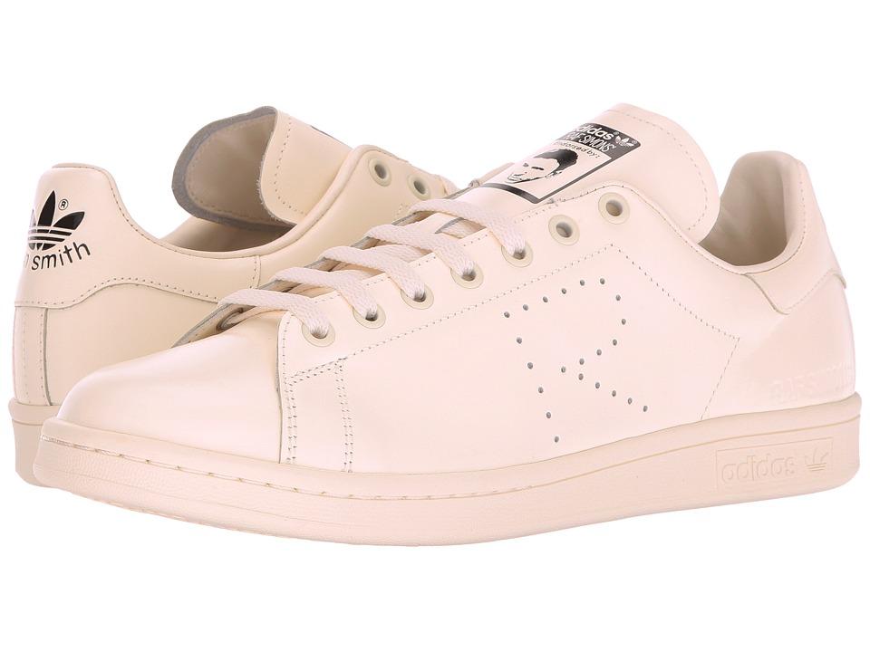 adidas by Raf Simons - Raf Simons Stan Smith (Cream White/Cream White/Core Black) Shoes