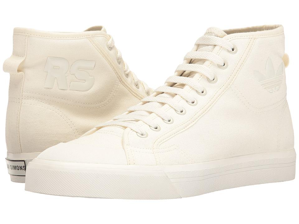adidas by Raf Simons - Raf Simons Spirit High (Off-White/Off-White/Black) Shoes
