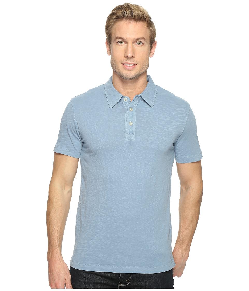 Mod-o-doc - Zuma Short Sleeve Polo (Fountain) Men's Clothing