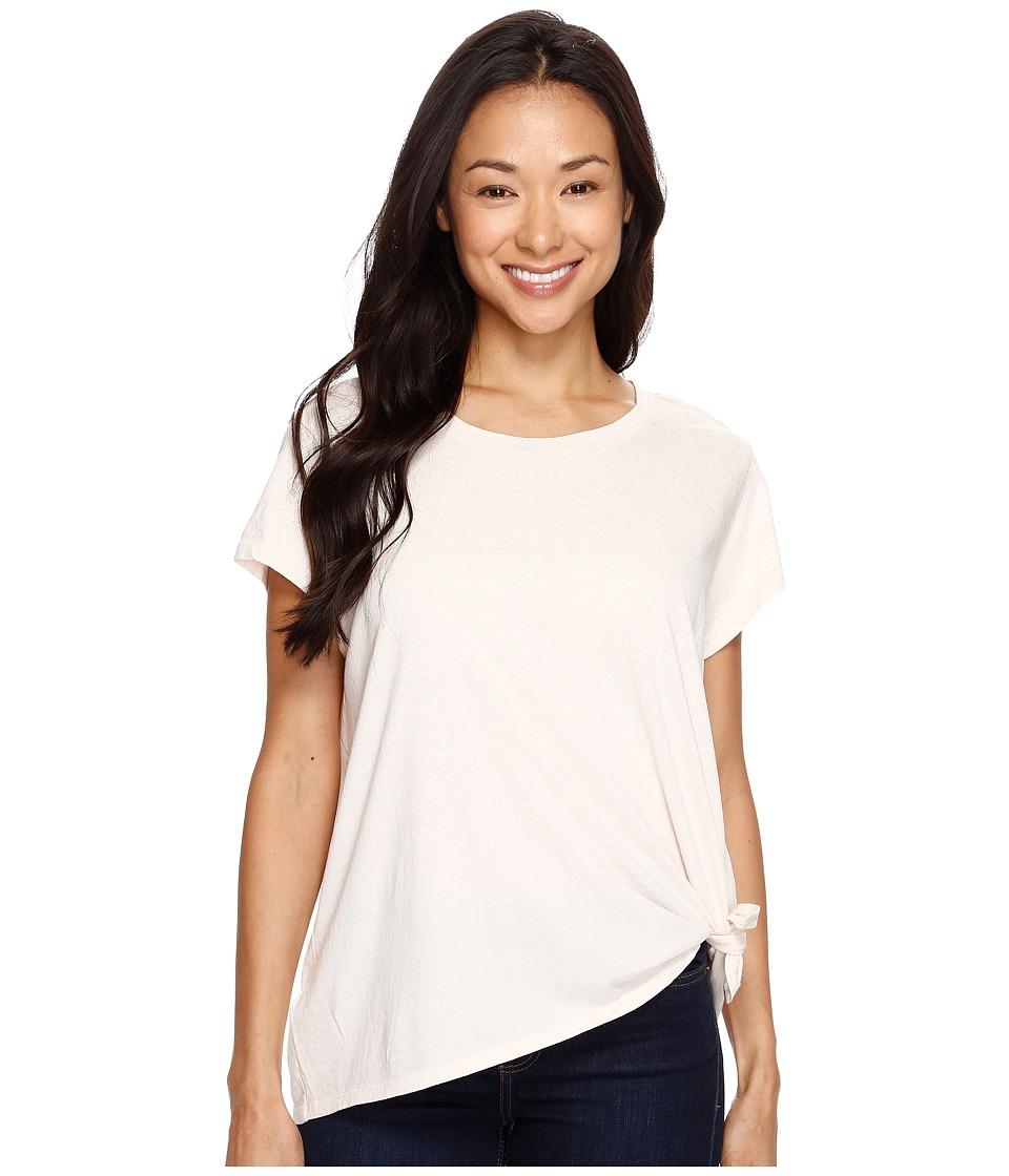 Calvin Klein Jeans - Tie Knot Tee (Shell) Women's T Shirt