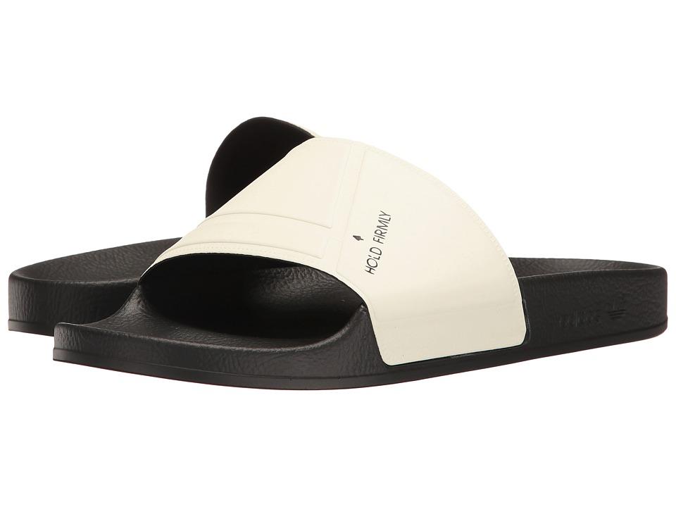 adidas by Raf Simons - Raf Simons Bunny Adilette (Cream White/Core Black/Core Black) Slide Shoes
