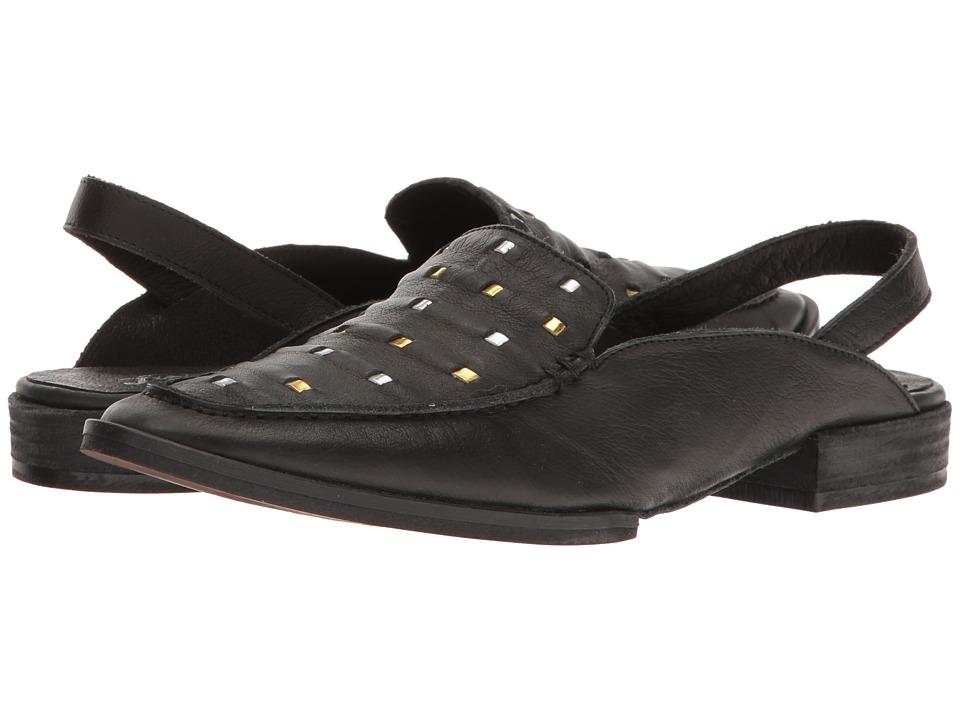 Free People - Bakersfield Slingback Mule (Black) Women's Slip on Shoes