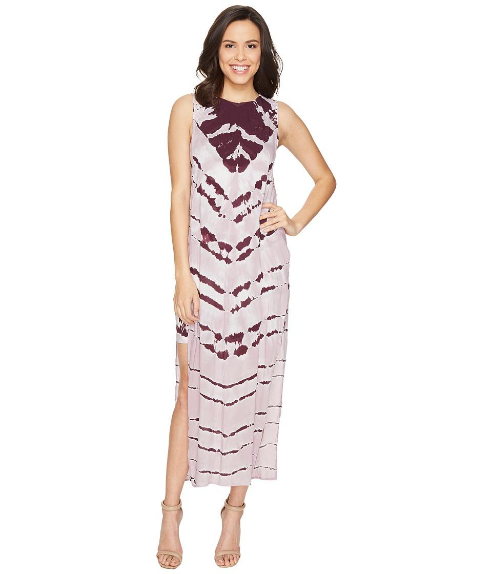 Young Fabulous & Broke Amara Dress (Pinot Stripe) Women