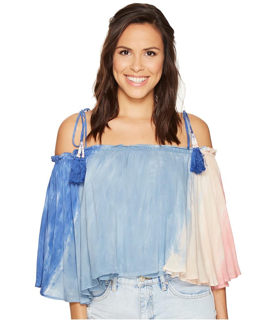 Young Fabulous & Broke - Indi Top (Sherbert Reef) Women's Clothing