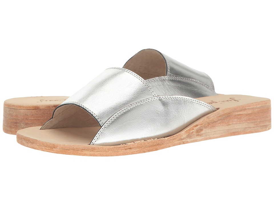 Free People - Daybird Mini Wedge (Silver) Women's Wedge Shoes
