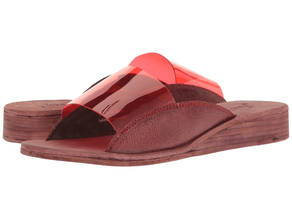 Free People - Daybird Mini Wedge (Raspberry) Women's Wedge Shoes