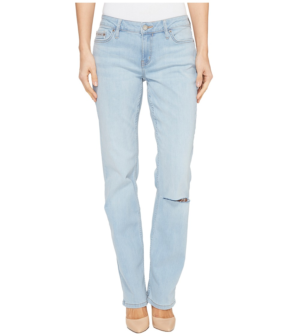Calvin Klein Jeans - Straight Leg Jeans in Pastel Haze Wash (Pastel Haze) Women's Jeans
