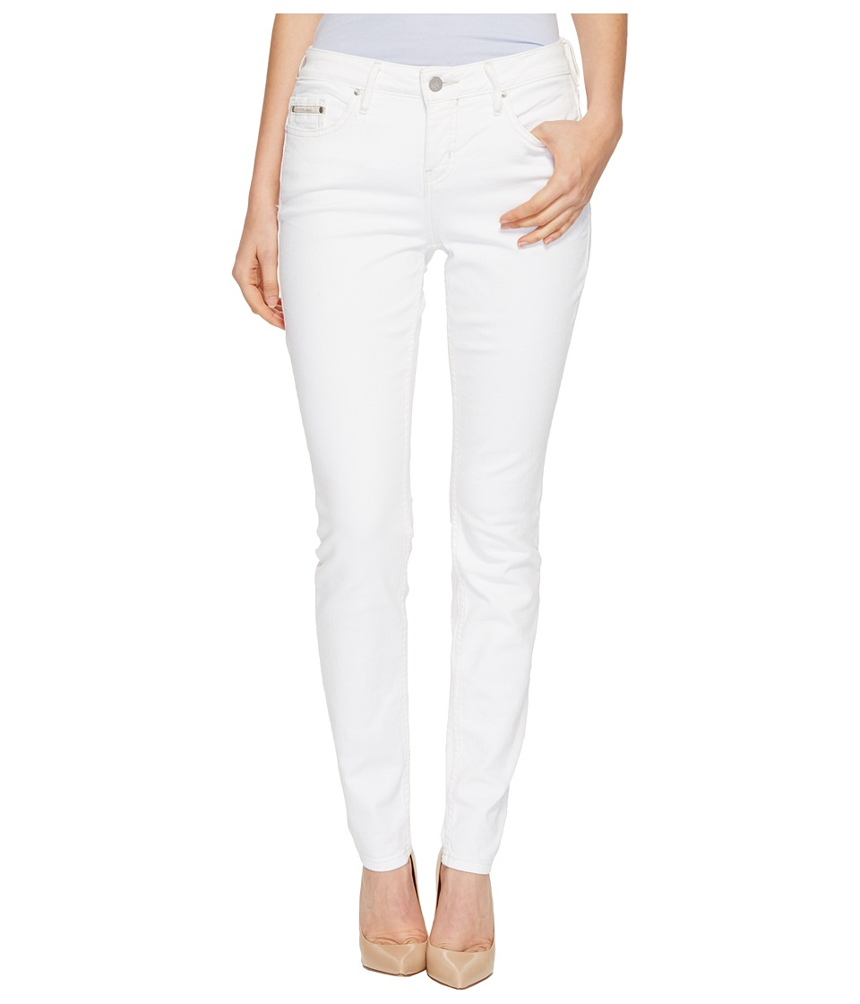 Calvin Klein Jeans - Curvy Skinny Jeans in White Wash (White Wash) Women's Jeans