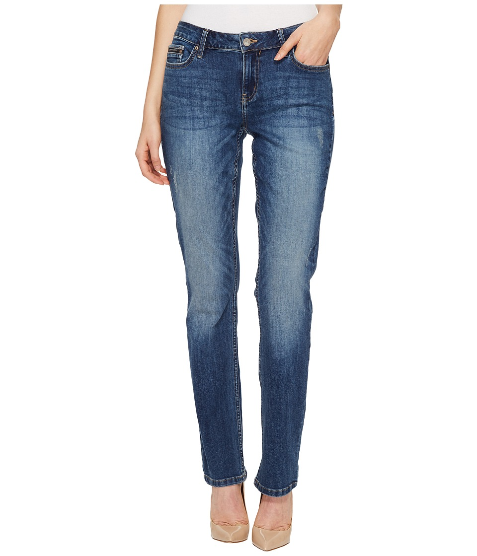 Calvin Klein Jeans - Straight Leg Jeans in Stormy Weather Wash (Stormy Weather) Women's Jeans